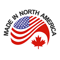 Made in North America Badge