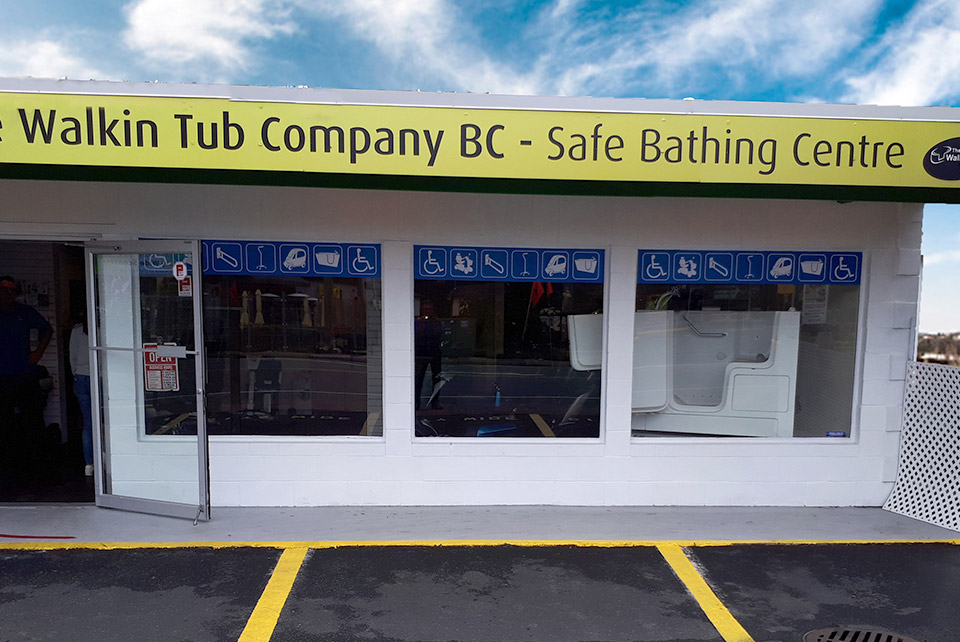 Exterior shot of our Safe Bathing Centre